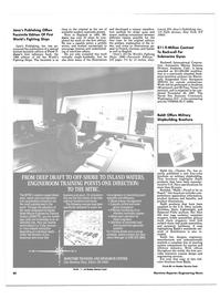 Maritime Reporter Magazine, page 80,  Jun 1986