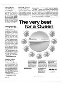 Maritime Reporter Magazine, page 81,  Jun 1986