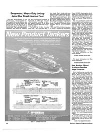 Maritime Reporter Magazine, page 82,  Jun 1986