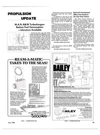 Maritime Reporter Magazine, page 83,  Jun 1986