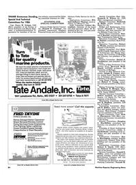 Maritime Reporter Magazine, page 84,  Jun 1986
