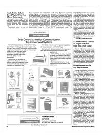 Maritime Reporter Magazine, page 86,  Jun 1986
