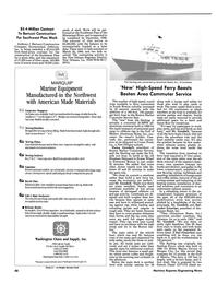 Maritime Reporter Magazine, page 88,  Jun 1986
