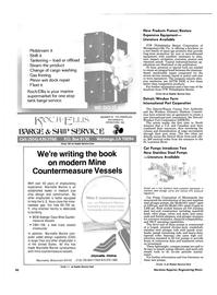 Maritime Reporter Magazine, page 90,  Jun 1986