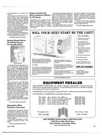 Maritime Reporter Magazine, page 95,  Jun 1986