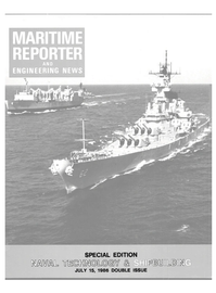 Maritime Reporter Magazine Cover Jul 15, 1986 -