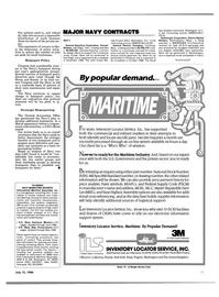 Maritime Reporter Magazine, page 9,  Jul 15, 1986