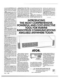 Maritime Reporter Magazine, page 15,  Jul 15, 1986