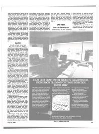 Maritime Reporter Magazine, page 27,  Jul 15, 1986 electrical generator systems