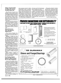 Maritime Reporter Magazine, page 31,  Jul 15, 1986 Bailey Announces