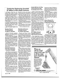 Maritime Reporter Magazine, page 41,  Jul 15, 1986