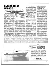Maritime Reporter Magazine, page 43,  Jul 15, 1986