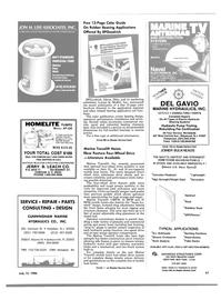 Maritime Reporter Magazine, page 61,  Jul 15, 1986 California