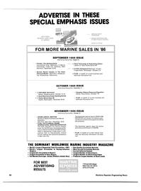 Maritime Reporter Magazine, page 66,  Jul 15, 1986