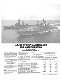Maritime Reporter Magazine, page 6,  Jul 15, 1986 aircraft carrier