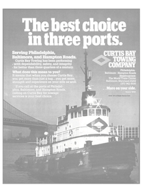 Maritime Reporter Magazine, page 11,  Aug 1986 towage services