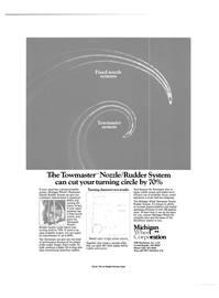 Maritime Reporter Magazine, page 2nd Cover,  Aug 1986 nozzle systems
