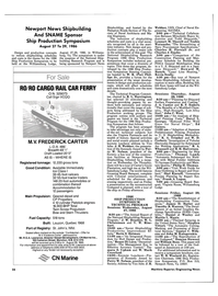 Maritime Reporter Magazine, page 26,  Aug 1986