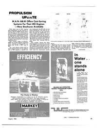Maritime Reporter Magazine, page 27,  Aug 1986