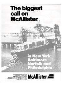 Maritime Reporter Magazine, page 1,  Aug 1986 McAllister Brothers Inc.