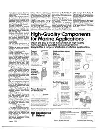 Maritime Reporter Magazine, page 31,  Aug 1986 Moss Rosen