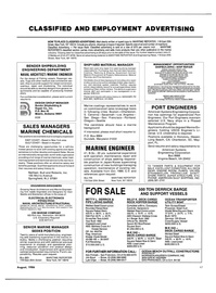 Maritime Reporter Magazine, page 47,  Aug 1986 Purchasing