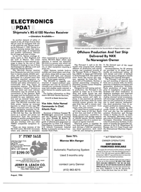 Maritime Reporter Magazine, page 49,  Aug 1986 east coast