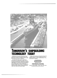 Maritime Reporter Magazine, page 3rd Cover,  Aug 1986 Todd