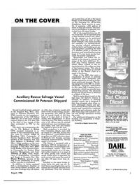 Maritime Reporter Magazine, page 5,  Aug 1986 Thomas J. Kile