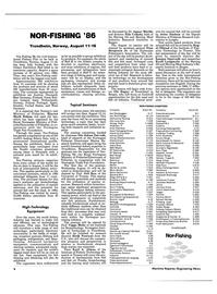 Maritime Reporter Magazine, page 6,  Aug 1986 C-212 Bergen