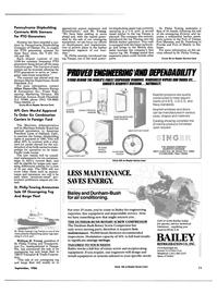 Maritime Reporter Magazine, page 9,  Sep 1986 Pennsylvania
