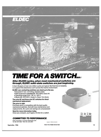 Maritime Reporter Magazine, page 11,  Sep 1986 Eldec Corporation