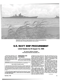 Maritime Reporter Magazine, page 29,  Sep 1986