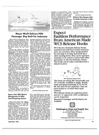 Maritime Reporter Magazine, page 55,  Sep 1986