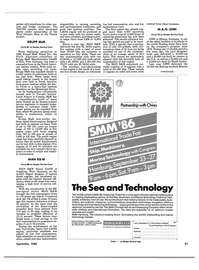 Maritime Reporter Magazine, page 59,  Sep 1986