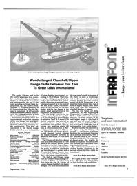 Maritime Reporter Magazine, page 5,  Sep 1986 dredge site