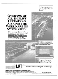 Maritime Reporter Magazine, page 4th Cover,  Sep 1986 shiplift technology