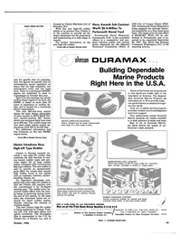 Maritime Reporter Magazine, page 17,  Oct 1986