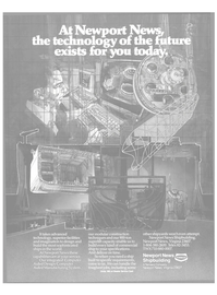 Maritime Reporter Magazine, page 19,  Oct 1986 Newport News shipbuilding