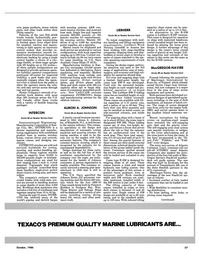 Maritime Reporter Magazine, page 25,  Oct 1986