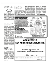 Maritime Reporter Magazine, page 33,  Oct 1986 US East Coast