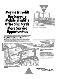 Maritime Reporter Magazine, page 4th Cover,  Oct 1986