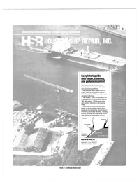 Maritime Reporter Magazine, page 3rd Cover,  Nov 1986