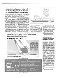 Maritime Reporter Magazine, page 12,  Nov 1986