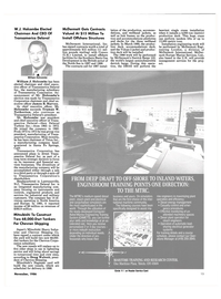 Maritime Reporter Magazine, page 13,  Nov 1986 Truman W. Netherton
