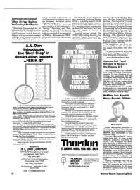 Maritime Reporter Magazine, page 14,  Nov 1986 Ontario