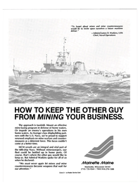 Maritime Reporter Magazine, page 19,  Nov 1986 United States Navy