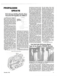 Maritime Reporter Magazine, page 21,  Nov 1986