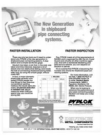 Maritime Reporter Magazine, page 25,  Nov 1986 field service network