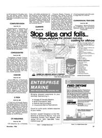 Maritime Reporter Magazine, page 33,  Nov 1986 CAD/ CAM